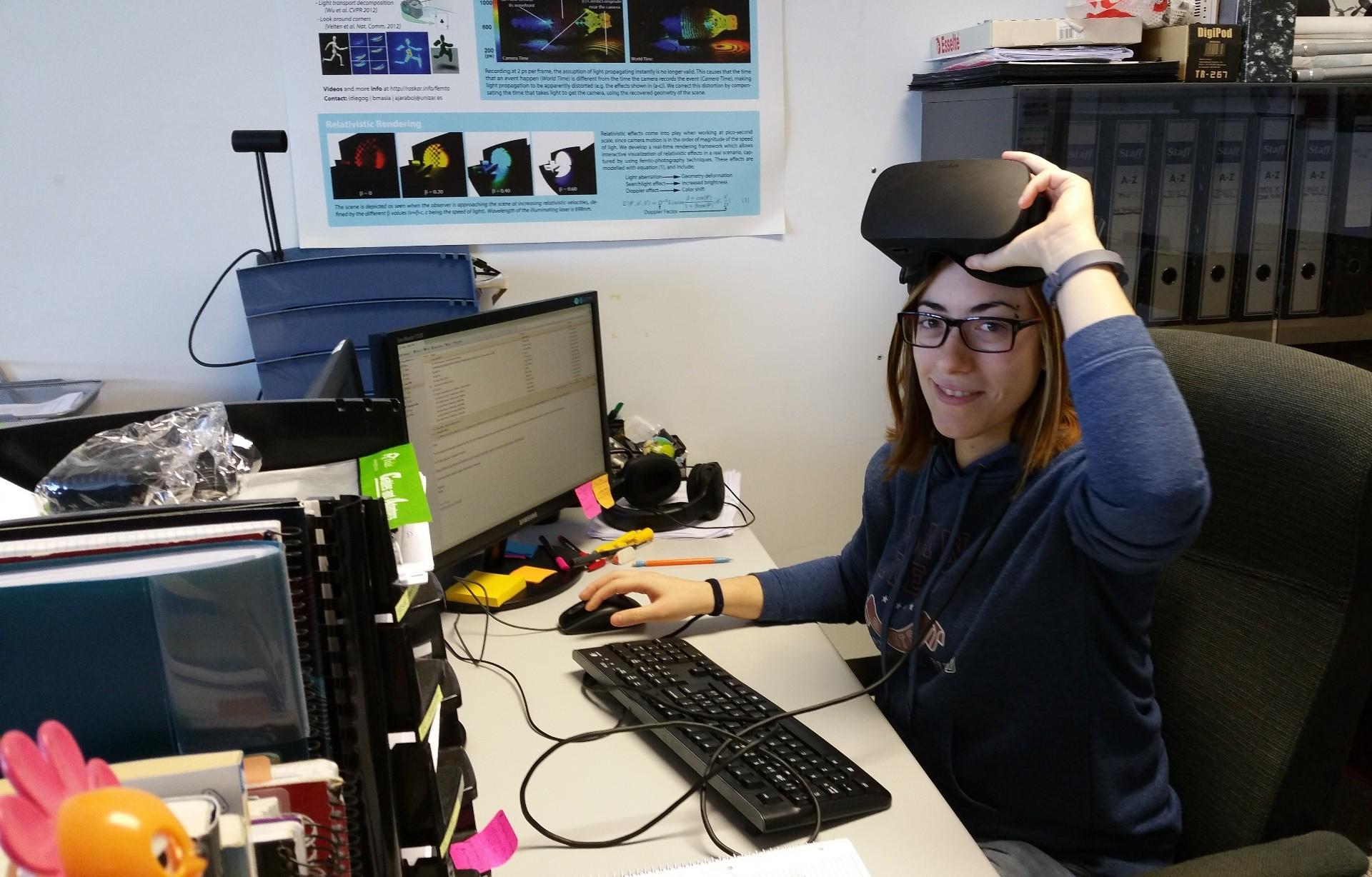 Una estudiante de doctorado de la Universidad de Zaragoza, única española premiada en los Adobe Research Fellowship