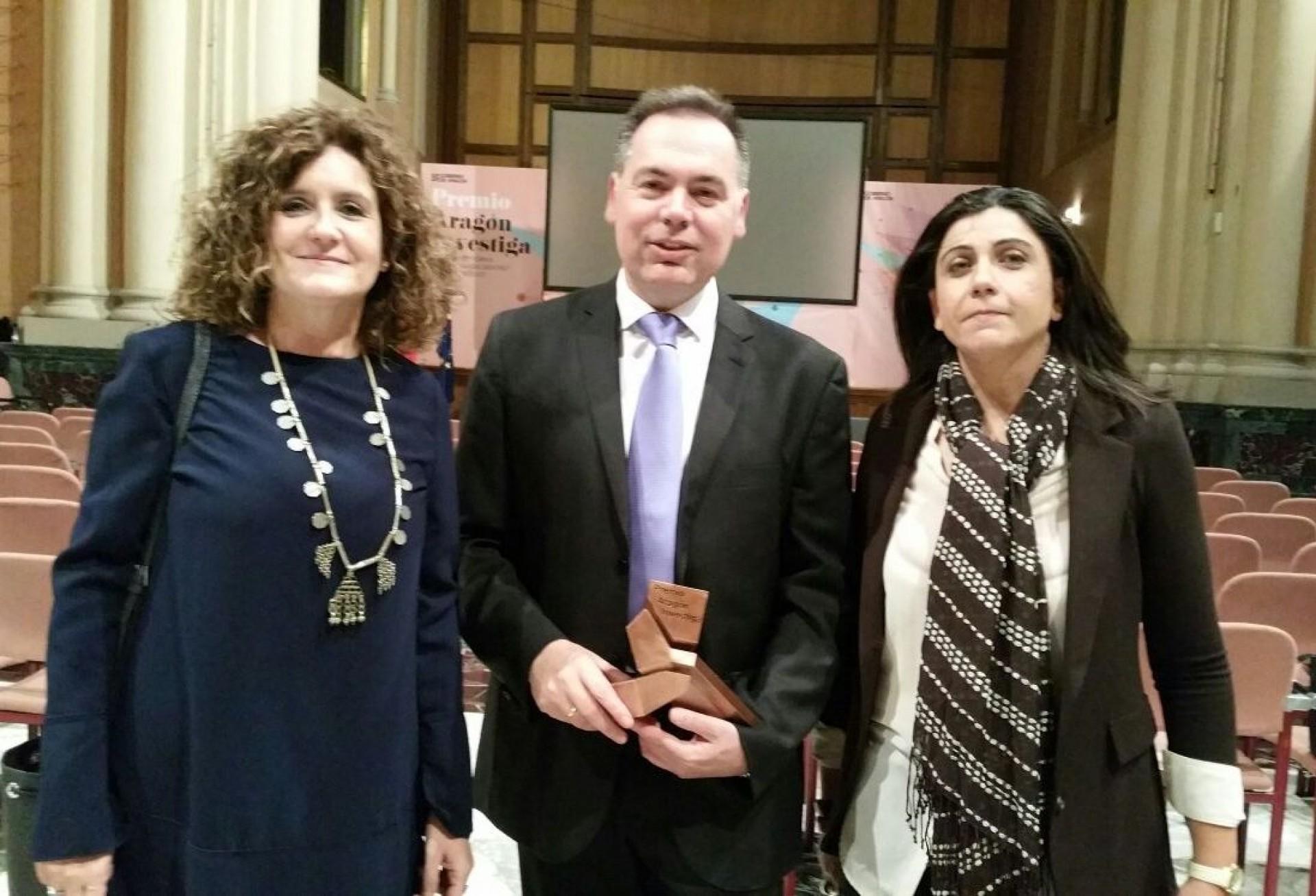 El I3A recibe el Premio Aragón Investiga coincidiendo con la celebración de su 15 aniversario