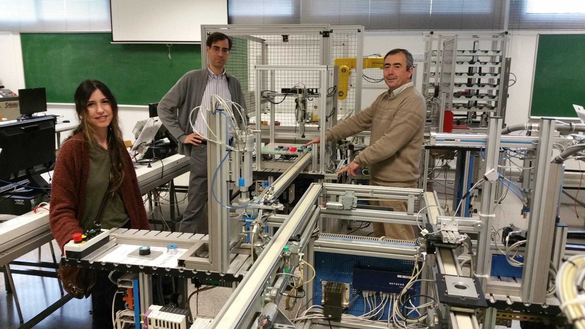 Investigadores de tres países se unen para robotizar procesos industriales y mejorar la calidad de vida de los trabajadores