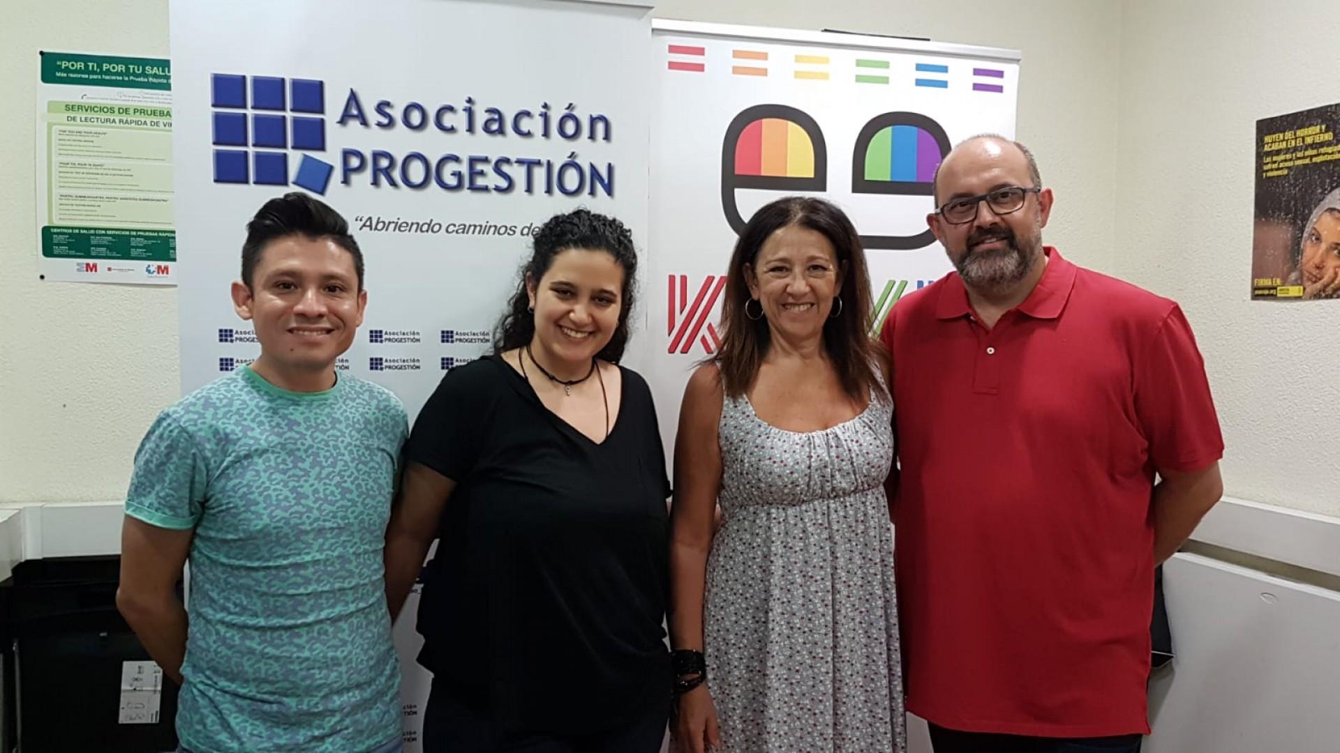 La Asociación Progestión y Kifkif impulsarán iniciativas sociales en favor de la comunidad LGTBI migrante, asilada y refugiada
