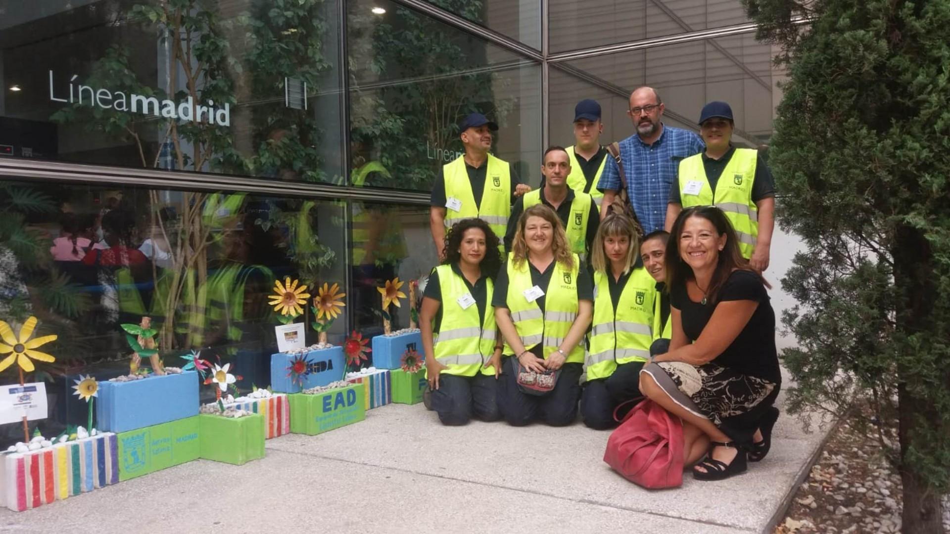 Siete barrios de Latina en Madrid le dan la vuelta a los residuos