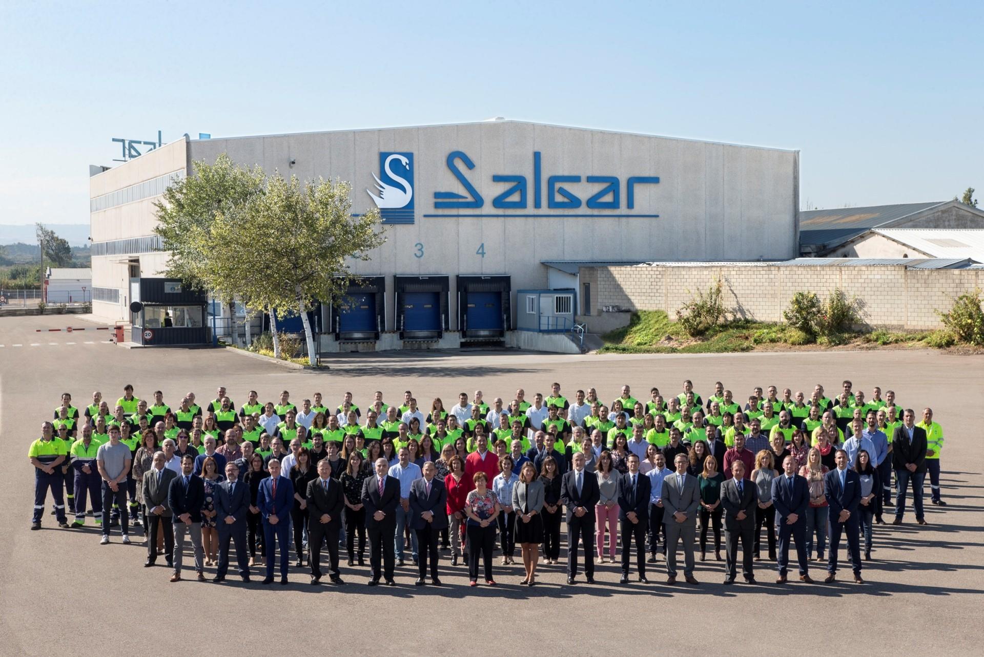 La empresa zaragozana Salgar celebra su 70 aniversario con la puesta en marcha de un ambicioso programa de inversiones