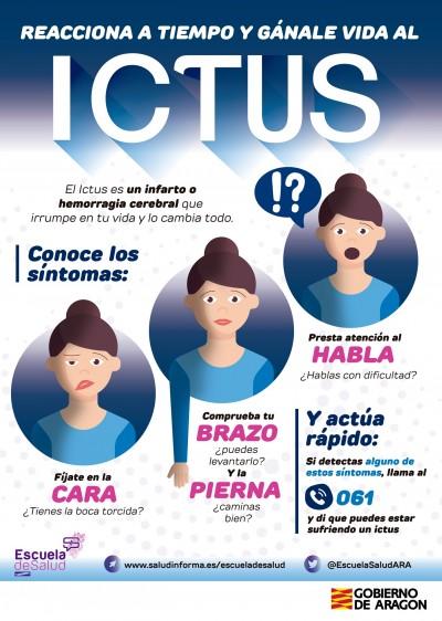 Campaña informativa sobre el ictus