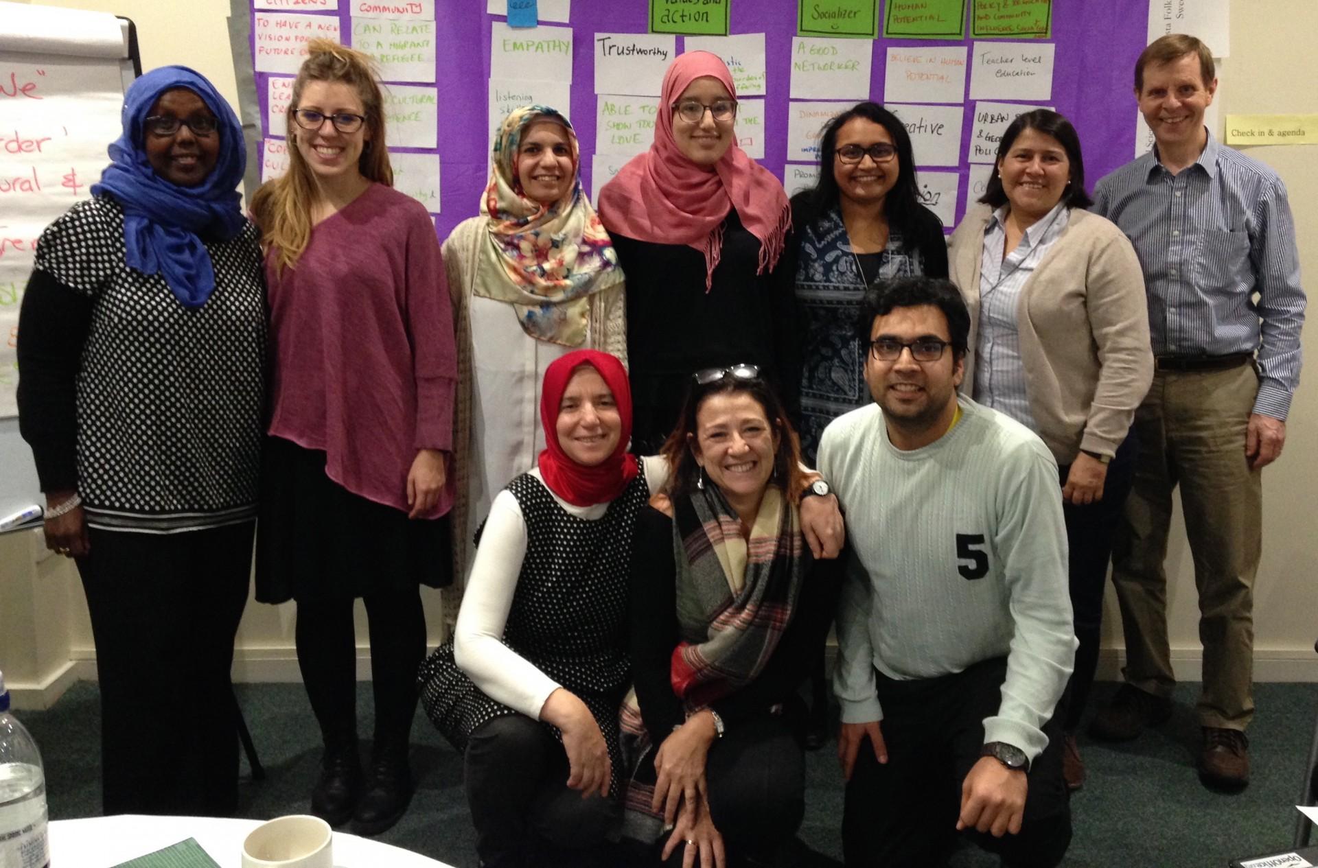 Expertos internacionales ultiman en Madrid Manuales de Formación para educadores de adultos que trabajan con personas migrantes y refugiadas