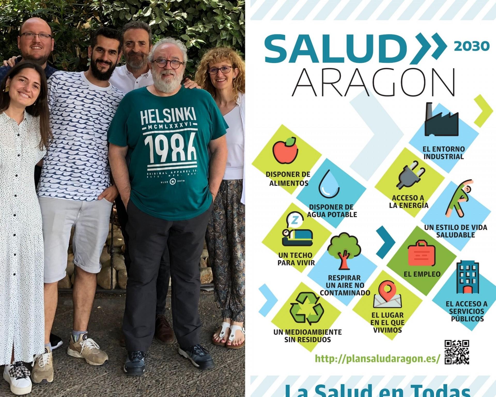 El Plan de Salud de Aragón 2030 contado a través de las historias y relatos de diferentes personas