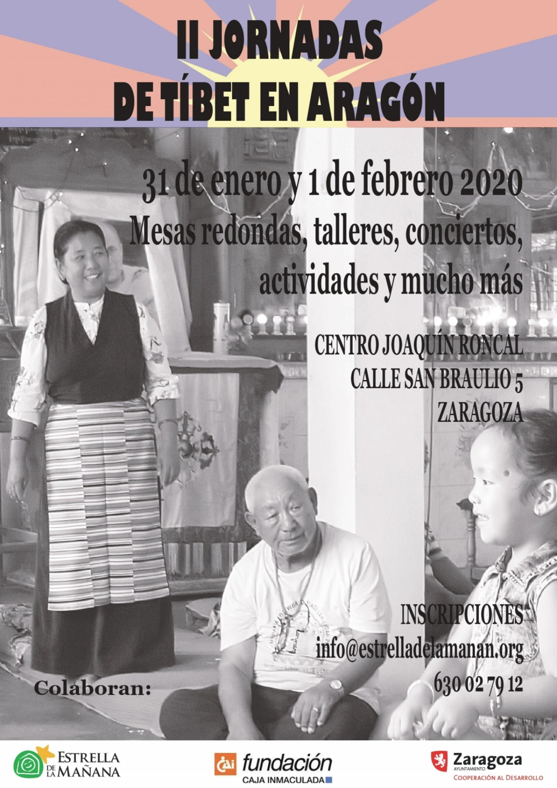 La ONG Estrella de la Mañana acerca el Tíbet a Zaragoza