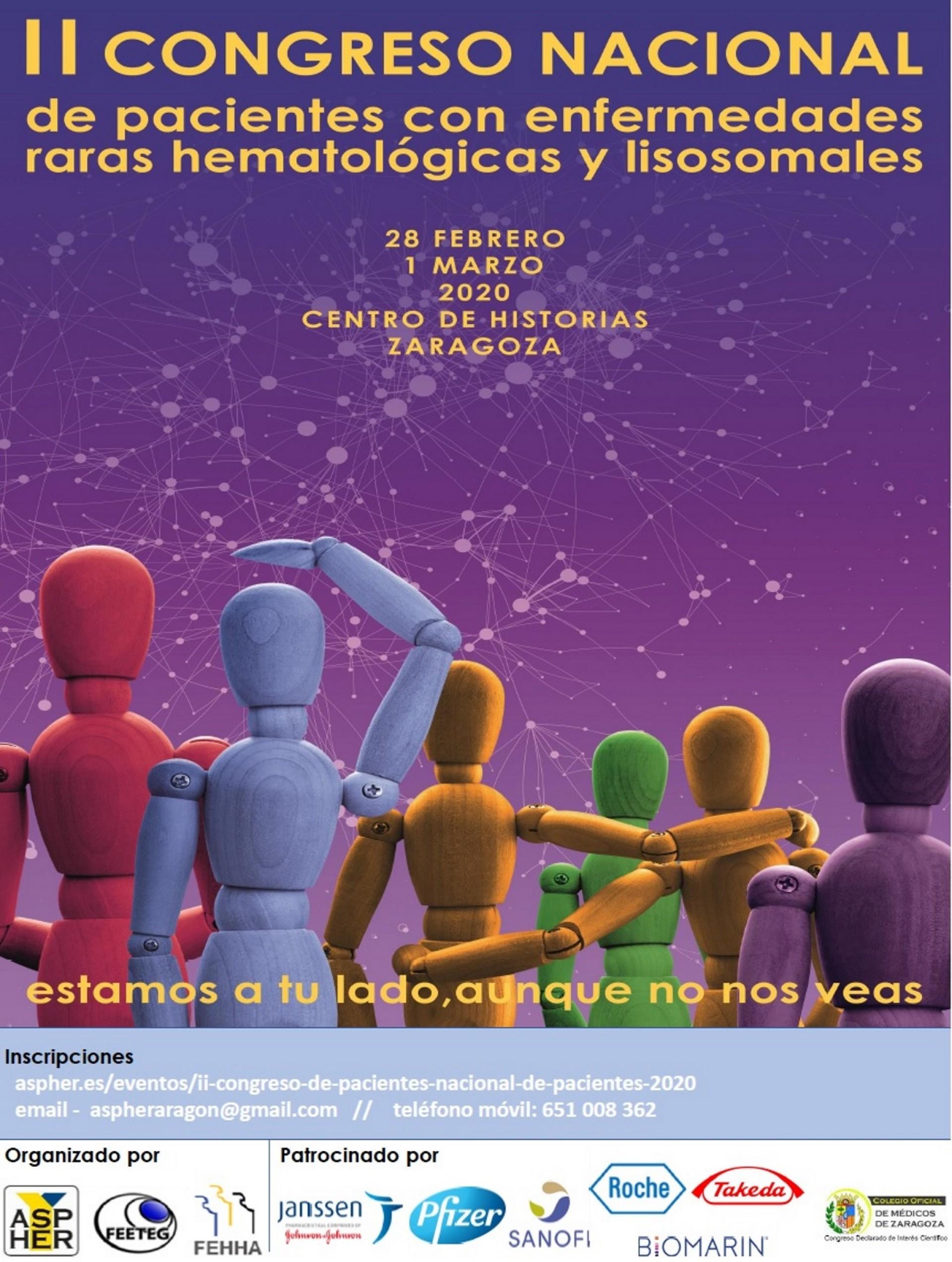La Asociación de Pacientes de Enfermedades Hematológicas Raras pide que se consiga en Aragón la práctica de la medicina personalizada y de precisión, ajustada al paciente y a la enfermedad