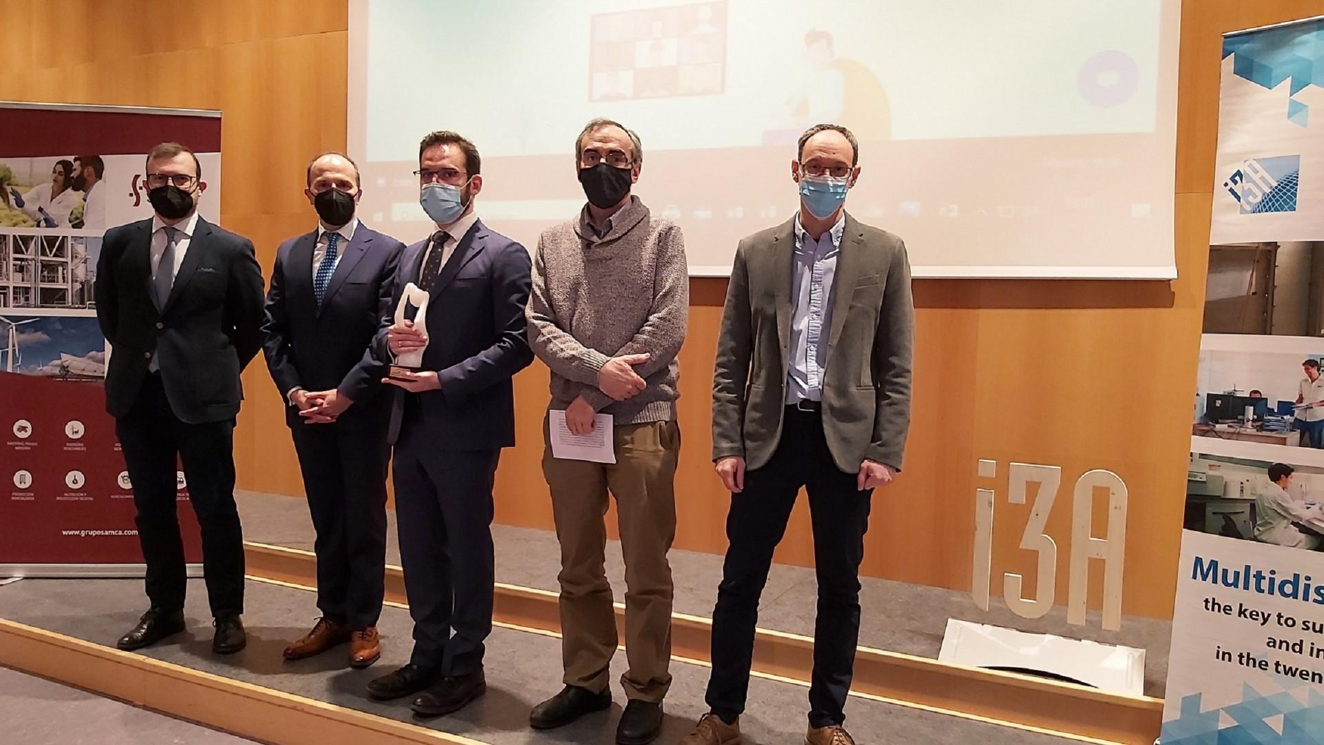 Premio al proyecto PowerIRE, una investigación que une ingeniería y salud para nuevos tratamientos de cáncer