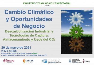Foro Tecnológico y Empresarial: la descarbonización de la economía