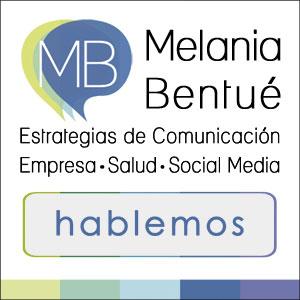 Melania Bentué . Periodista Zaragoza . Estrategias de comunicación